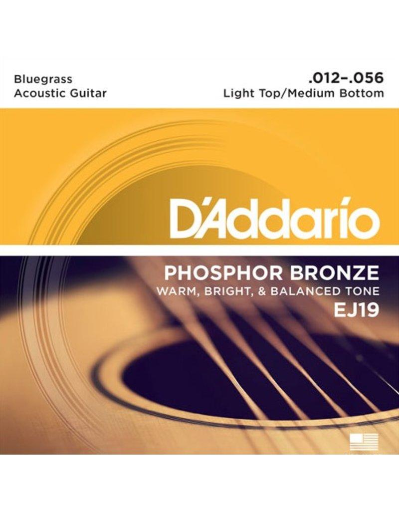D'Addario - Phosphor Bronze, 12-56 Bluegrass