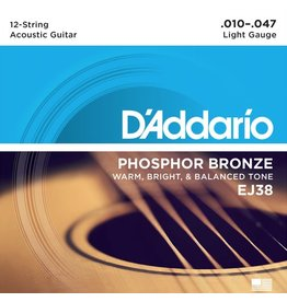 D'Addario - Phosphor Bronze 12 String, 10-47 Light