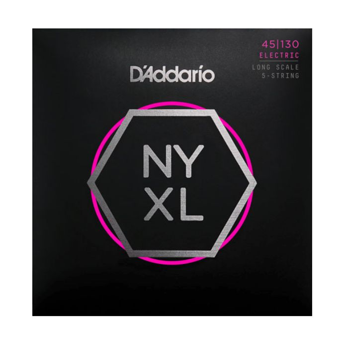 D'Addario - NYXL 45/130 Regular Light Bass Guitar Strings