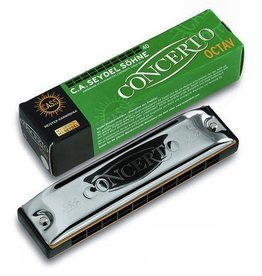 Seydel - Concerto Solo, Octave Harmonica, Key of A