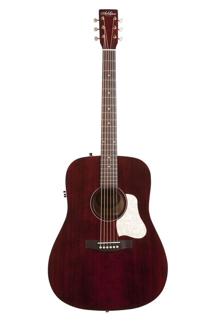 Art & Lutherie - Americana Dreadnought Acoustic Electric, Tennessee Red
