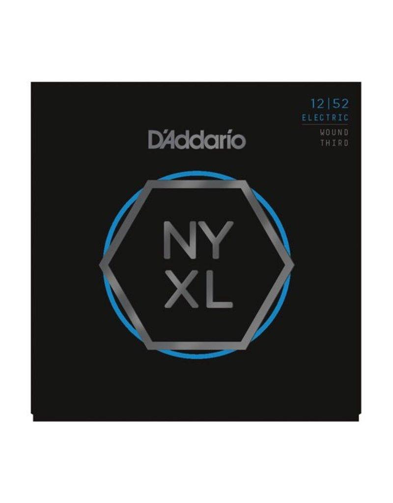 D'Addario - NYXL Nickel Wound, 12-52 Light w/Wound 3rd
