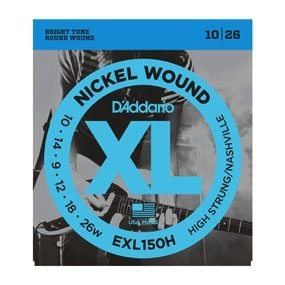 D'Addario - XL Nickel Wound, High Strung/Nashville Tuning