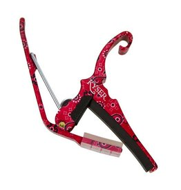 Kyser - Quick Change Capo, 6 String, Red Bandana