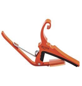 Kyser - Quick Change Capo, 6 String, Orange Blaze