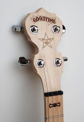 Deering - Goodtime 5-String Openback Banjo, Blonde