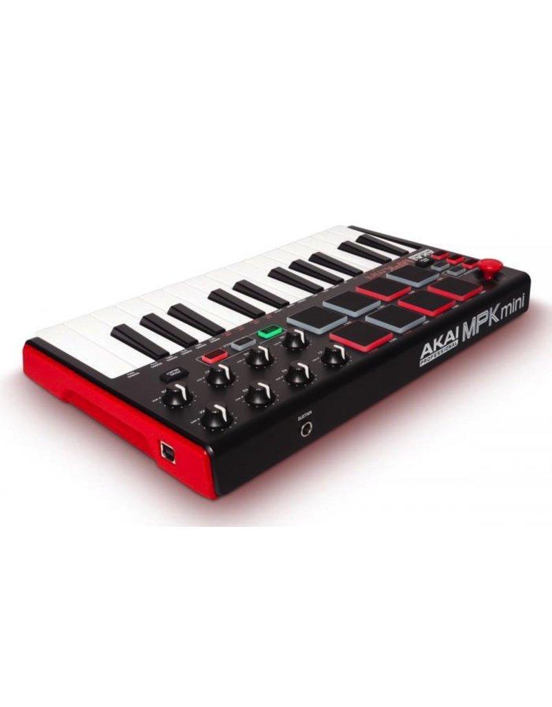 Akai - MPK Mini MKII 25 Note Keyboard/Drum Pad Controller