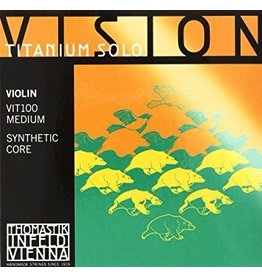 Thomastik Infeld - Vision Solo (Titanium) Violin Strings, 4/4