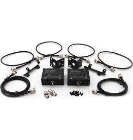 Sennheiser - Mounts 2 Sennheiser XS Wireless Series Receivers