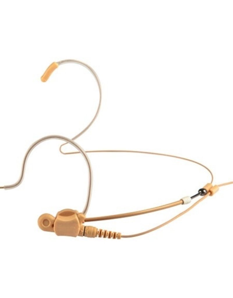 """Apex - Universal """"Invisible"""" Low Profile Headset Mic, Tan"""
