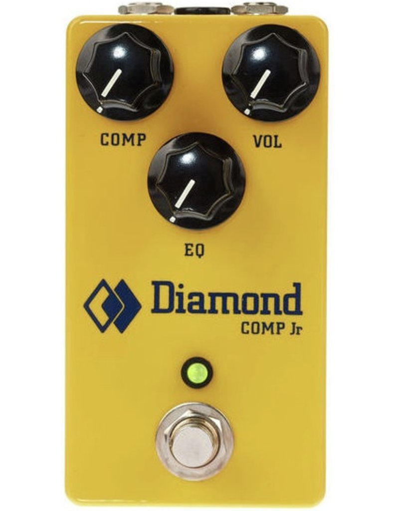 Diamond Pedals - Comp Jr Optical Compressor w/EQ