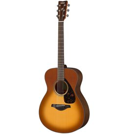 Yamaha - FS800 Folk Acoustic, Solid Top, Sand Burst