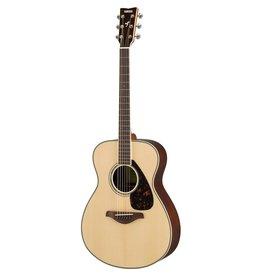 Yamaha - FS830 Folk Acoustic, Solid Top, Natural
