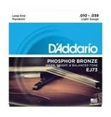 D'Addario - EJ73 Phospher Bronze, Light Mandolin Strings