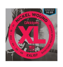 D'Addario - XL157 Nickel Wound, Baritone 14-68