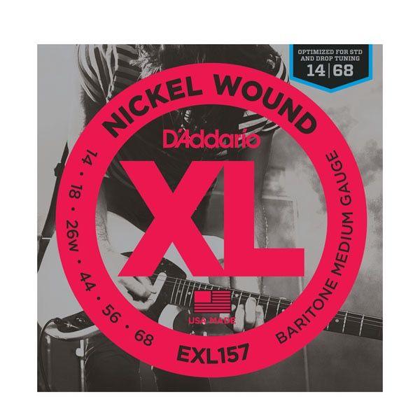 D'Addario - XL157 Nickel Wound, Baritone 14-68