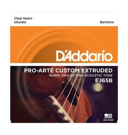 D'Addario - J65B Clear Nylon Baritone Ukulele Strings