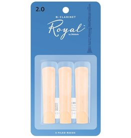 Rico - 3 Pack of Bb Clarinet Reeds, 2