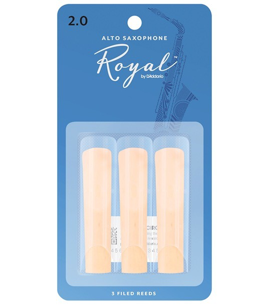 Rico - Alto Saxophone Reeds 2, 3 Pack