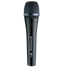 Sennheiser - E945 Dynamic Supercardioid Vocal Microphone, Pro Series