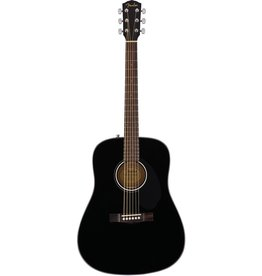 Fender - CD-60S Dreadnought Acoustic, Black