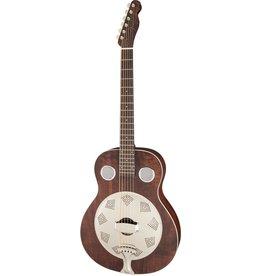 Fender - Brown Derby Resonator, Brown Stain