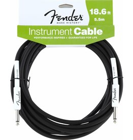 Fender - 18.6' Instrument Cable, Black