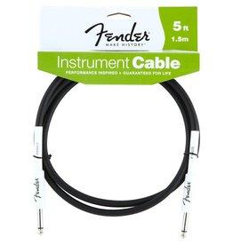 Fender - 5' Instrument Cable, Black