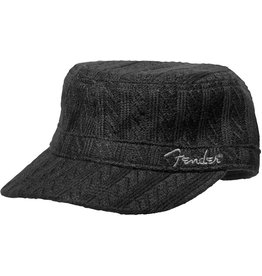 Fender - Military Sweaterknit Hat, Black, One Size Fits Most