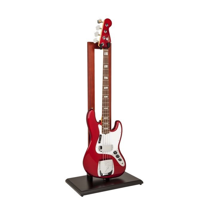 fender hanging guitar stand cherry w black base janzen brothers music company. Black Bedroom Furniture Sets. Home Design Ideas