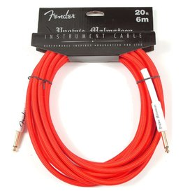 Fender - 20' Yngwie Malmsteen Instrument Cable, Red