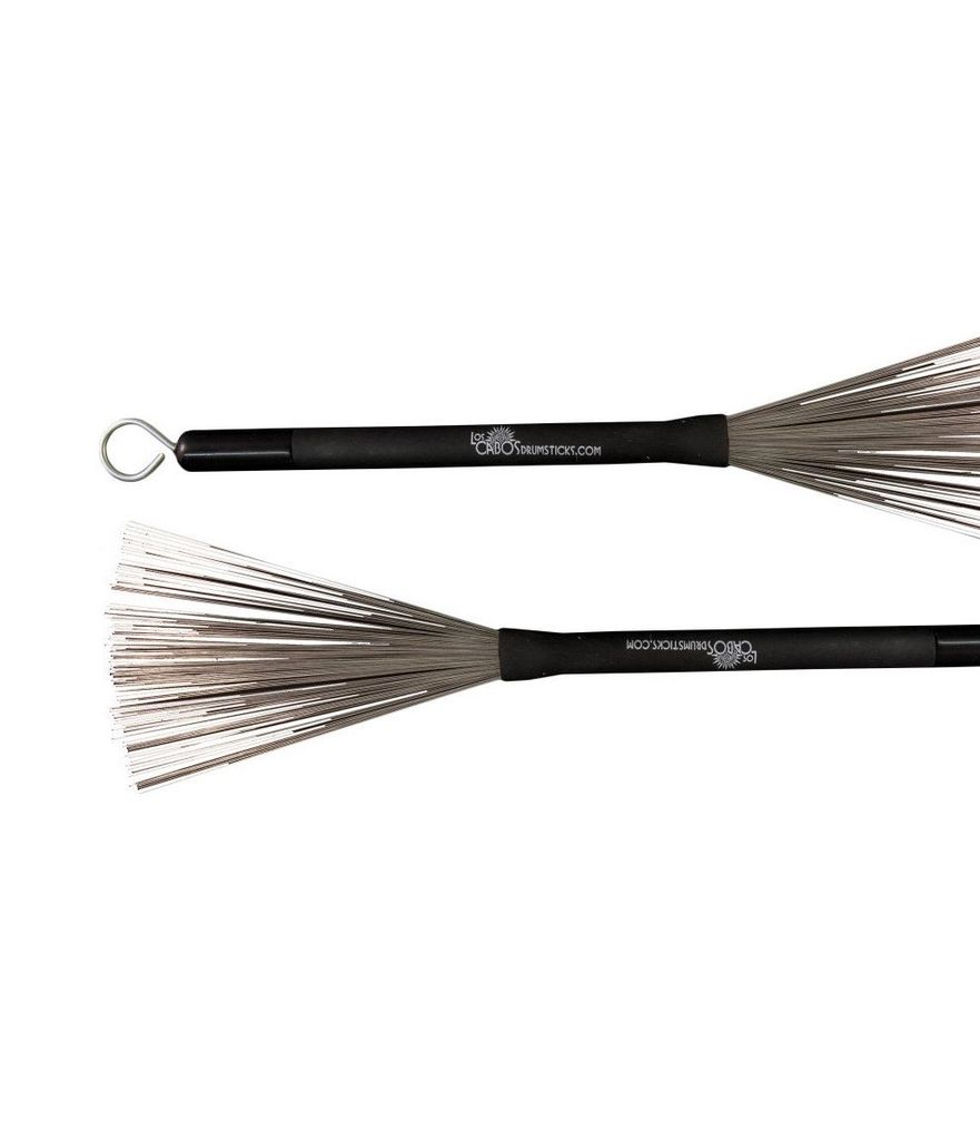 Los Cabos - Standard Wire Brushes w/Rubber Retractable Handle ...