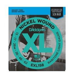 D'Addario - EXL158 Nickel Wound, Baritone 13-62