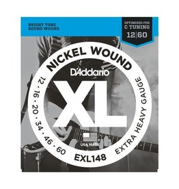 D'Addario - XL Nickel Wound, 12-60 Extra Heavy