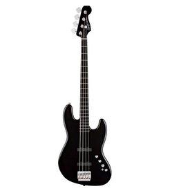 Squier - Deluxe Active Jazz Bass, Black