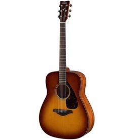 Yamaha - FG800 Acoustic Guitar w/Solid Top, Sand Burst