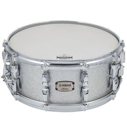 """Yamaha - Absolute Hybrid Snare 14x6"""", Silver Sparkle"""
