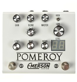 Emerson Custom - Pomeroy Boost/Overdrive/Distortion Pedal, White
