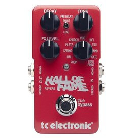 TC Electronic - Hall of Fame 2 Reverb Pedal