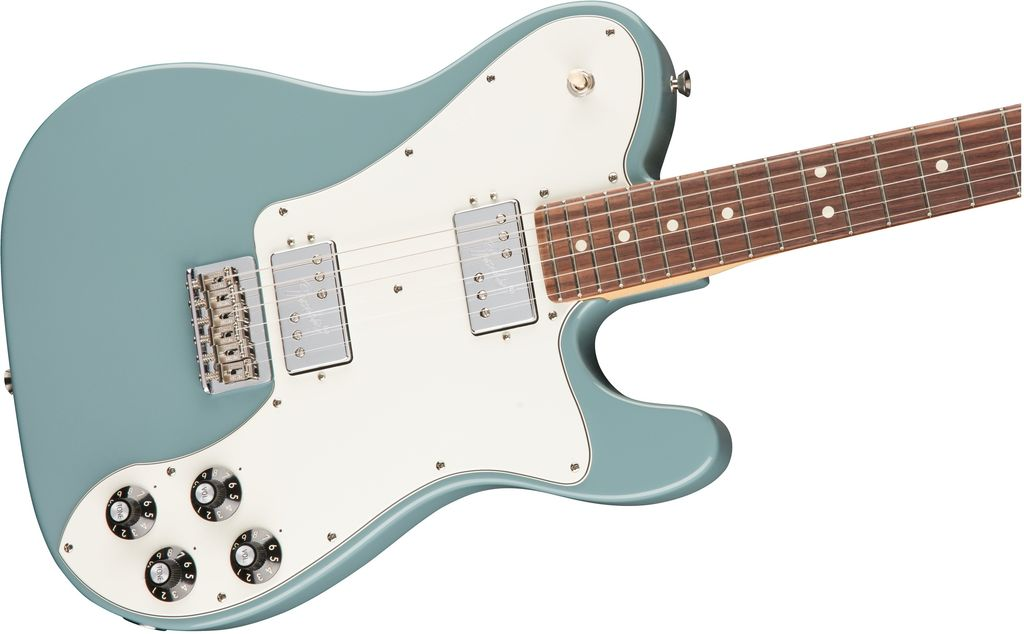 Fender - American Professional Series Telecaster Deluxe Shawbucker, Sonic Gray