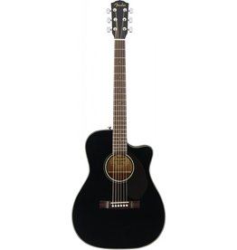 Fender - CC60SCE Concert Cutaway Acoustic Electric w/solid top, Black