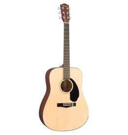 Fender - CC60S Concert Acoustic w/solid top, Black (Starter Pack)