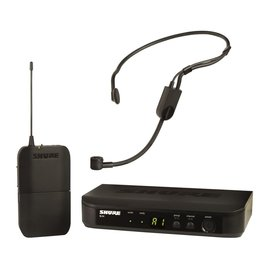 Shure - BLX Wireless System w/Bodypack Transmitter & Headworn Mic