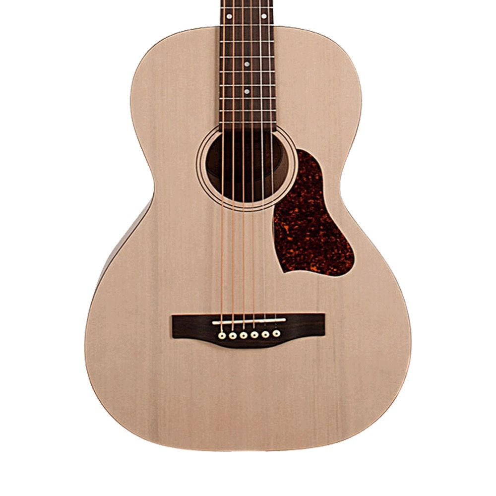 Art & Lutherie - Roadhouse Series Parlour Acoustic Electric, Trans Cream (Factory 2nd)