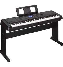 Yamaha - DGX660 88Key Digital Piano w/Stand & Bench