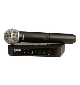 Shure - BLX Wireless System w/PG58 Handheld Transmitter