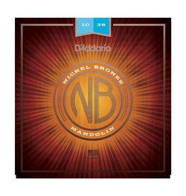 D'Addario - Nickel Bronze Mandolin Strings, 10-38 Light