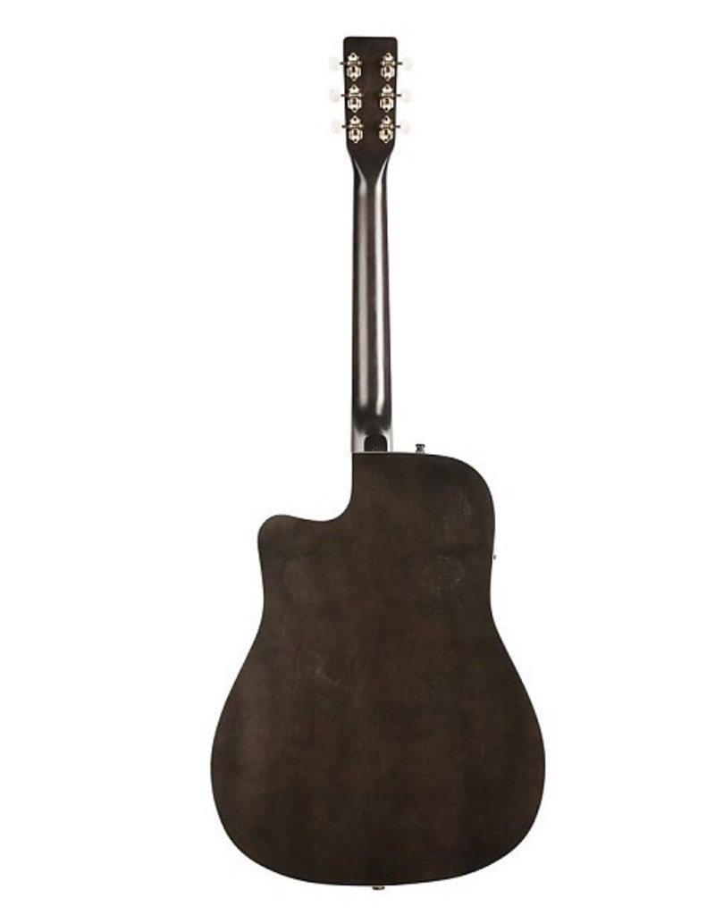 Art & Lutherie - Americana Series Dreadnought CW A/E, Faded Black