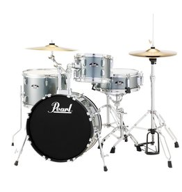 Pearl - RS584C/706 Roadshow Series Drum Set, Charcoal Metallic