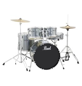 Pearl - RS505C/706 Roadshow Series Drum Set, Charcoal Metallic